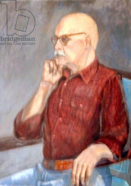 Grandpa, 2001, (oil on canvas)