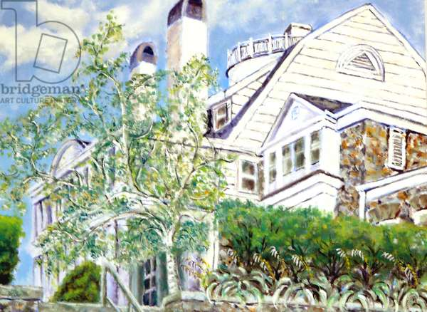 Flagg Mansion,1999, (oil on canvas)