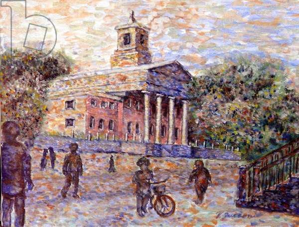 Richmond Town Court House. 1999 (oil on canvas)