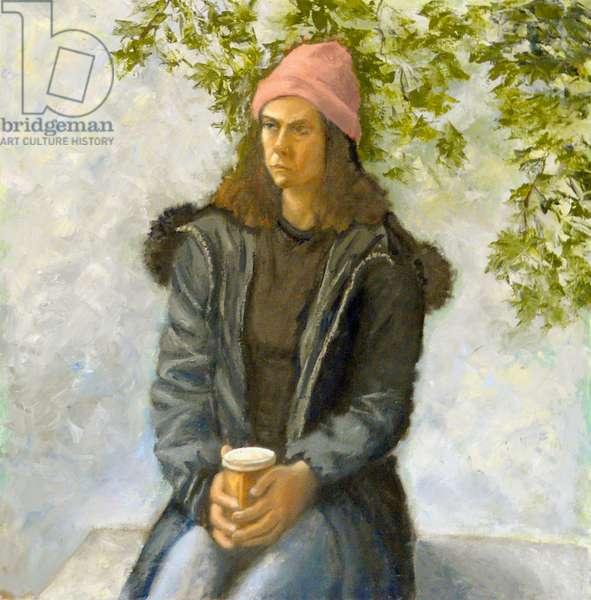Still Waiting, 2005, (oil on canvas)