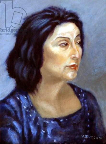 Woman's Portrait, 2005, (oil on canvas)