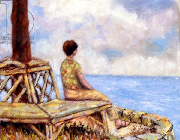 Widow's Bench, 2003, (oil on canvas)