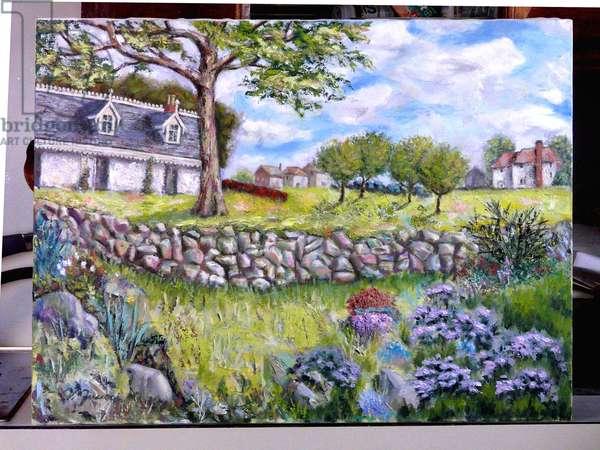 Alice Austin House, 2010, (oil on canvas)