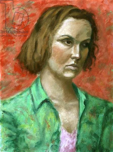 Woman's Portrait, 2006, (oil on canvas)