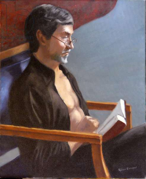 The Reader, 2002, (oil on canvas)