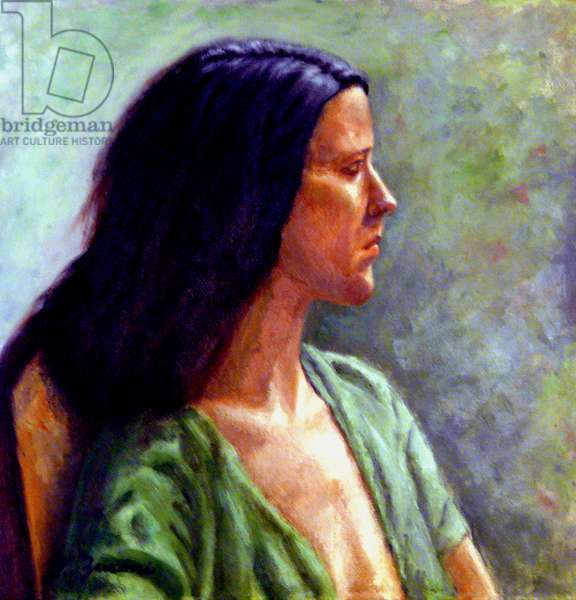 The Green Smock, 2008, (oil on canvas)