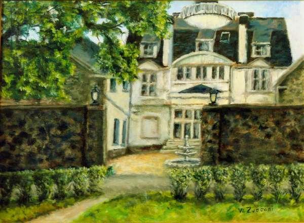 Architect Fiagg's Estate, 1999, (oil on canvas)