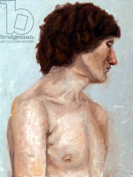 Young Man, 2004, (oil on canvas)