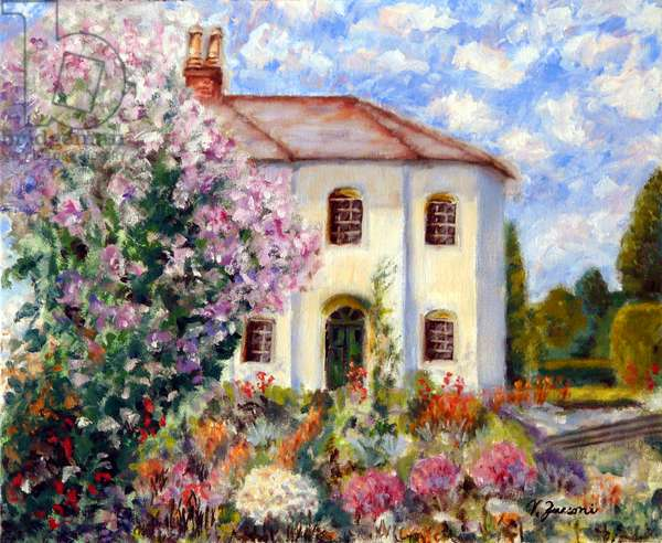 Rose of Sharon Villa, 2008, (oil on canvas)