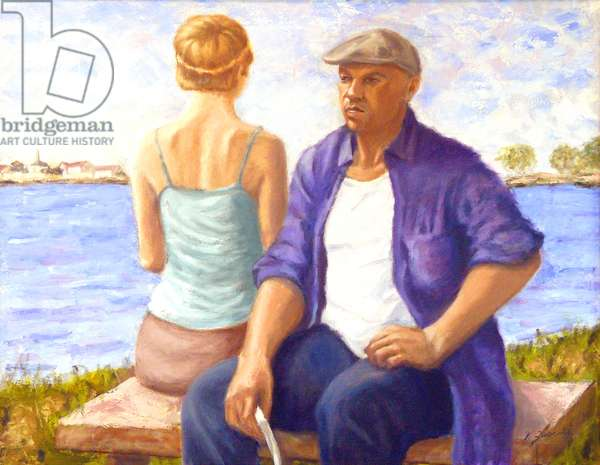 Man and Woman, 2004, (oil on canvas)