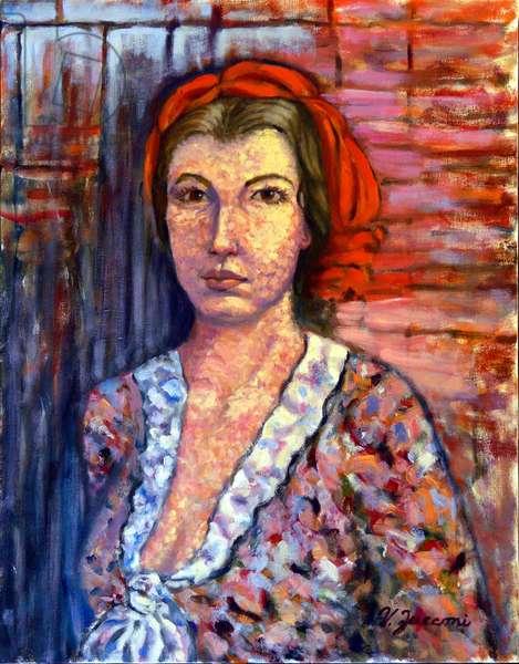 Beatriz-Elsy, 2018; (oil on canvas)