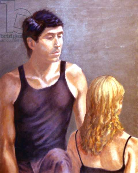 Man And Woman, 2003, (oil on canvas)
