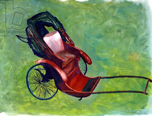 Rickshaw, 1984, (oil on canvas)