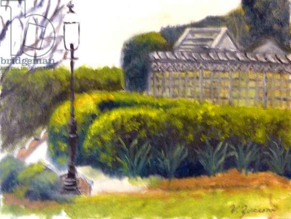 Central Park, 2003, (oil on canvas)