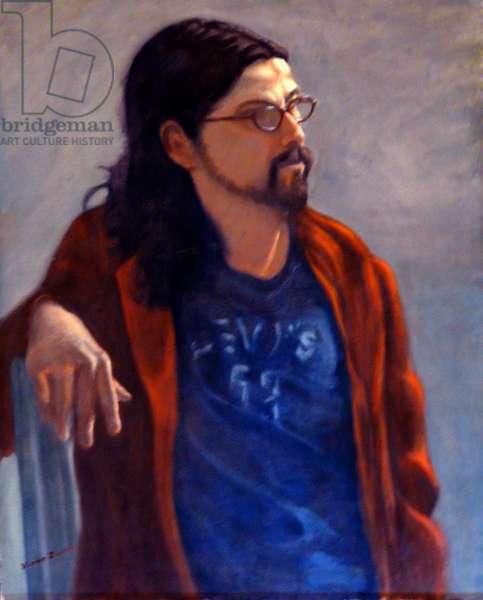 Bearded Man, 2005, (oil on canvas)