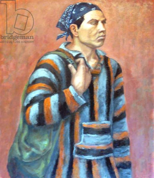 The Gypsy, 2005, (oil on canvas)