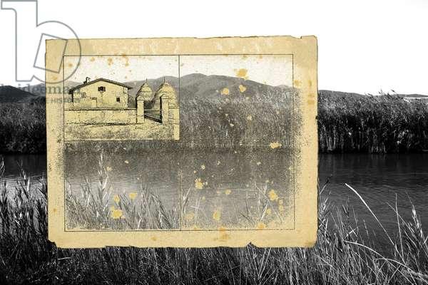 vivi ritirato e nella quiete e sii selvaggio(6), 2011, photographic contamination