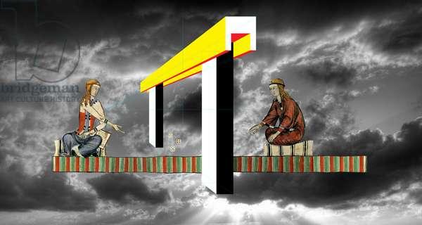 c'è sempre una seconda chance, 2011, collagraph, digital photography