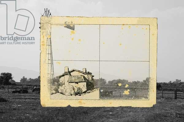 vivi ritirato e nella quiete e sii selvaggio  (2), 2011, photographic contamination