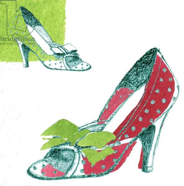 Shoe (mixed media)