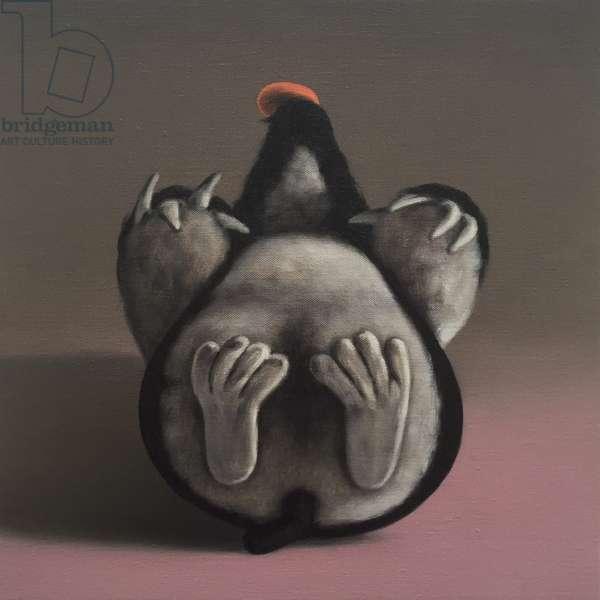 Mole's Last Breath, 2018, (oil on canvas)