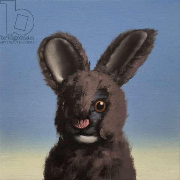 Bunny, 2017, (oil on canvas)