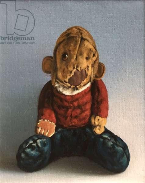 Eelke Monkey, 2016, (oil on canvas)