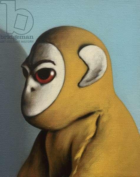 Yellow Monkey, 2006, (oil on canvas)
