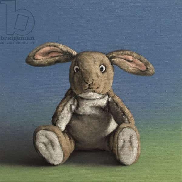 Bunny, 2019, (oil on canvas)