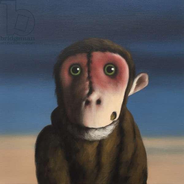 Fergus Monkey, 2017, (oil on canvas)