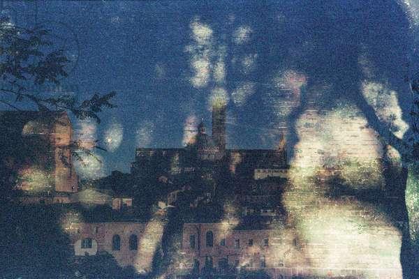 Secret Knowledge, 2015, analogue double exposure photograph
