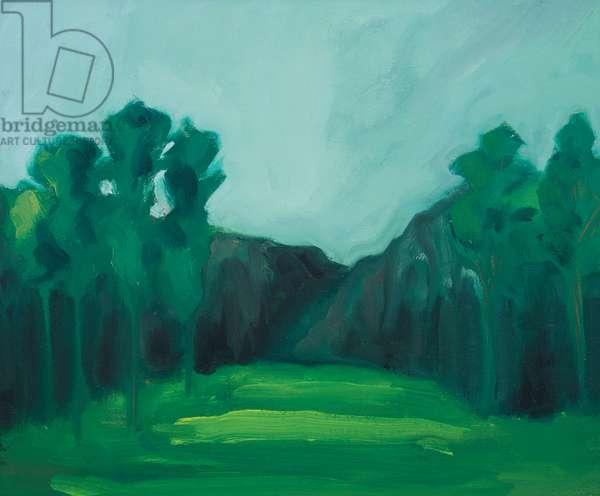 garden 1, 2019, oil on canvas