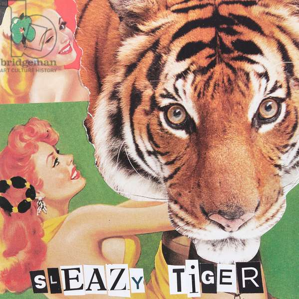 Sleazy Tiger, Collage, 2019