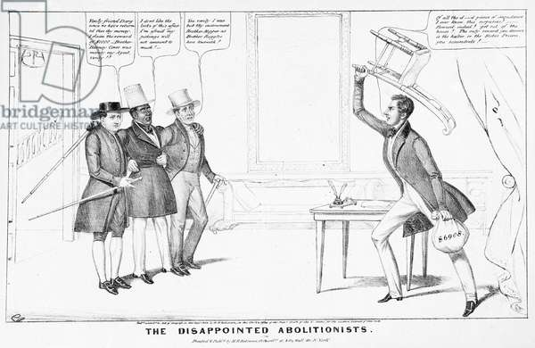 The Disappointed Abolitionists (litho)