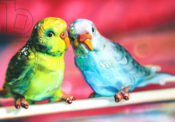 Lovebirds, 2011, (oil on canvas)