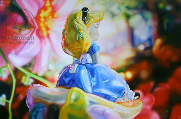 Alice in Wonderland, 2010, (oil on canvas)