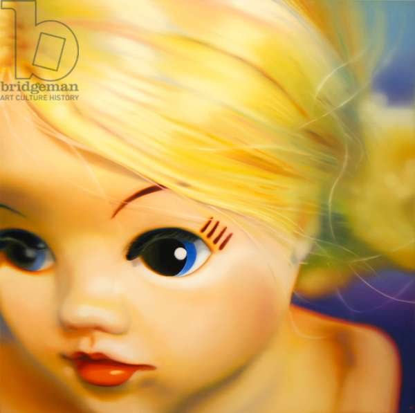 Goldilocks, 2008, (oil on canvas)