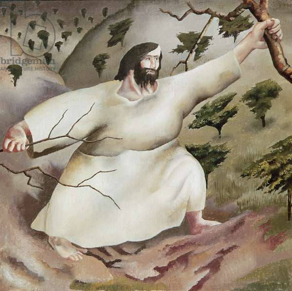 Driven by the Spirit into the Wilderness, Panel from 'Christ in the Wilderness' Series, 1939