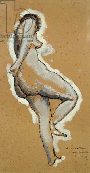 Standing Nude, 1910