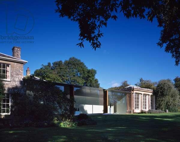 New Art Gallery, Roche Court, Salisbury, UK (photo)