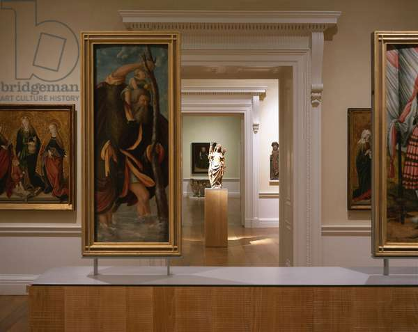 Interior of the German Gallery, Compton Verney, Warwickshire, UK (photo)