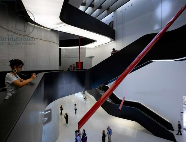 The MAXXI, National Museum of 21st Century Arts, Rome, Italy (photo)