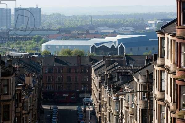 View to the Riverside Museum, Glasgow, Scotland (photo)