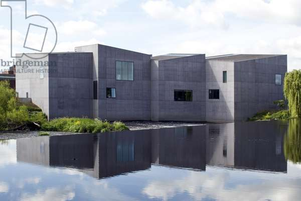 The Hepworth Gallery in Wakefield, UK. Exterior view, 2014 (photo)