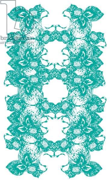 Orchid Symmetry, 2020 (digital)