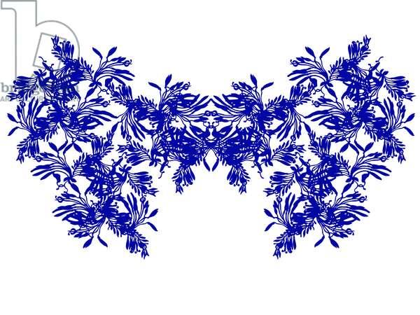 Blue Wings, 2021 (digital)