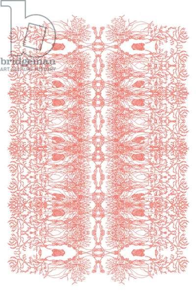 Coral Pink Seaweeds, 2020 (digital)