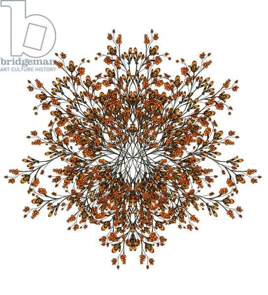 Autumn Branches, 2021 (digital)