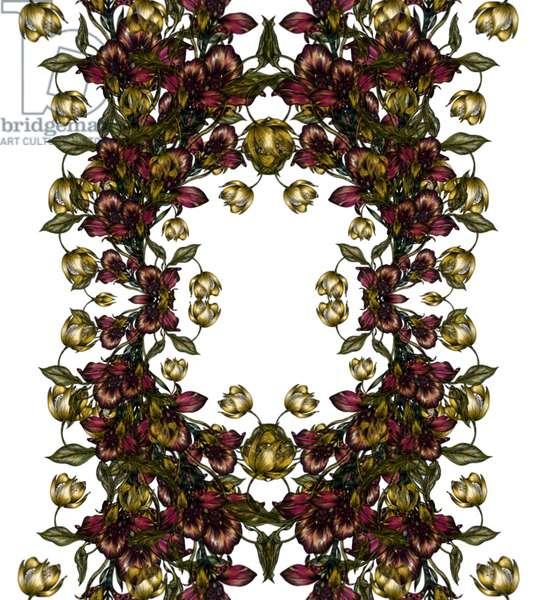 Petals, 2020 (digital drawing)