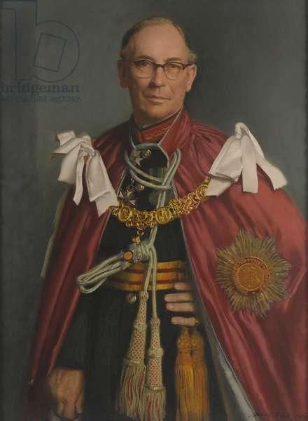 Lt. Gen. Sir Ian Jacob GBE CB, 1965 (oil on canvas)